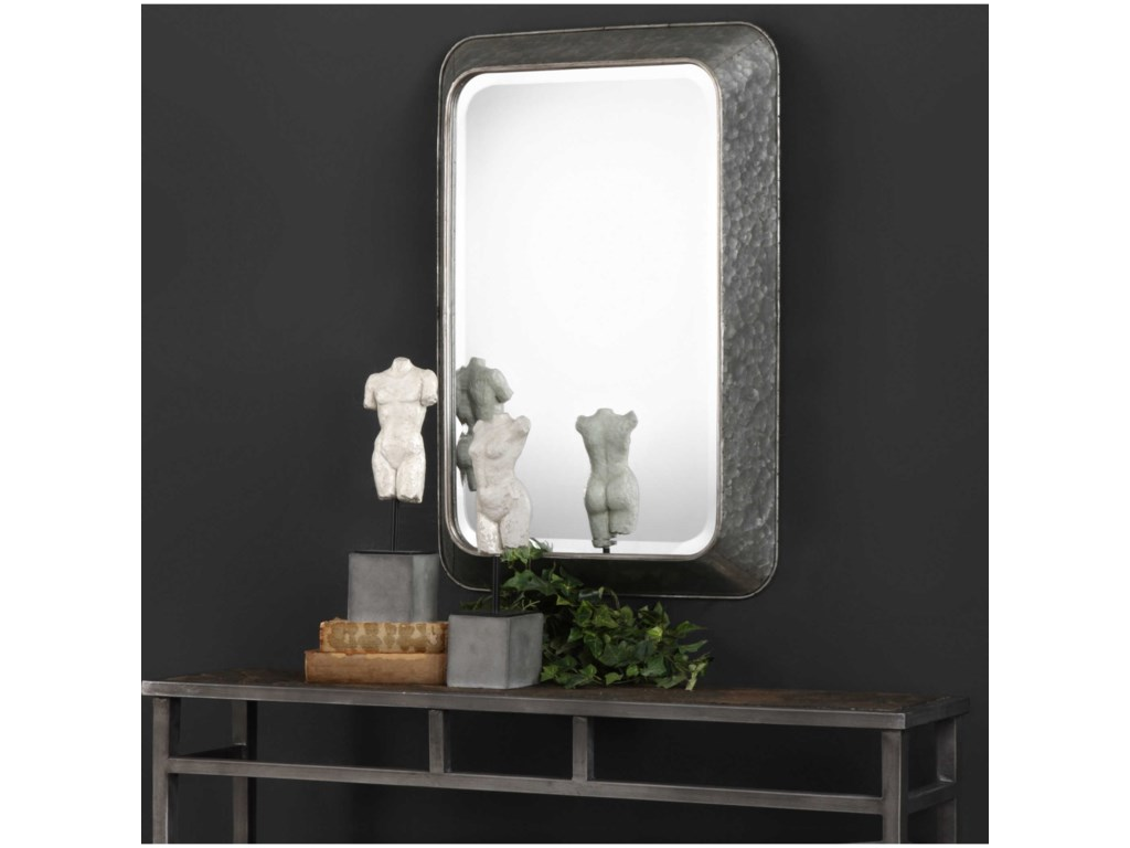 Uttermost MirrorsJarno Industrial Iron Mirror