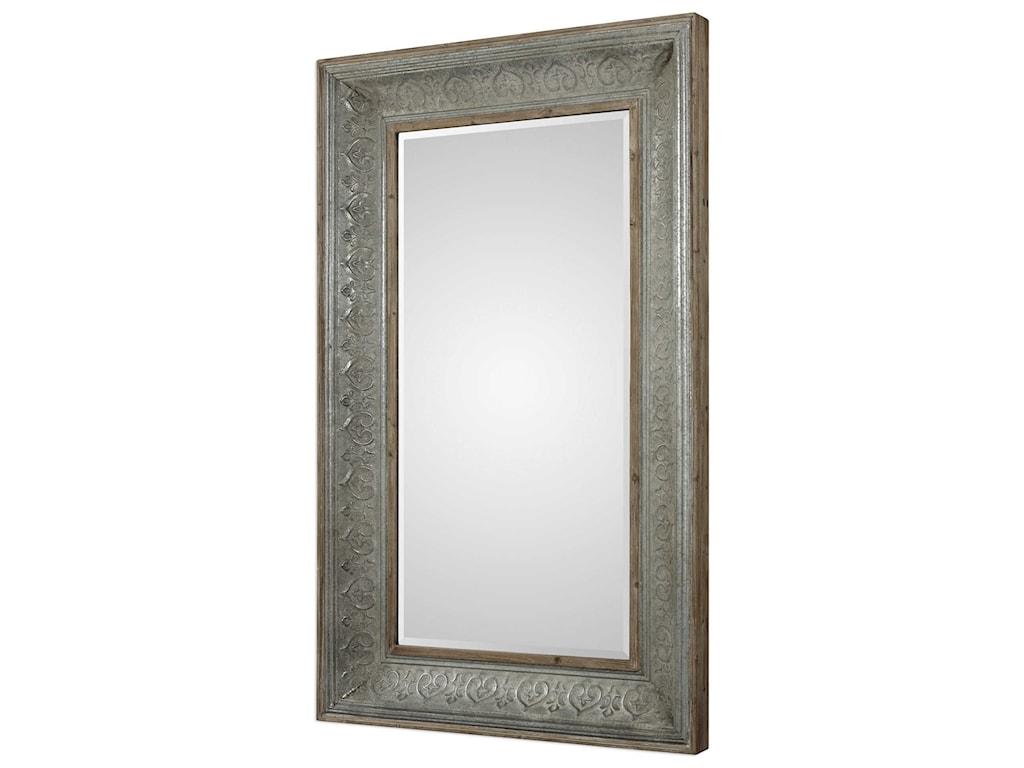 Uttermost MirrorsBianca Aged Gray Mirror