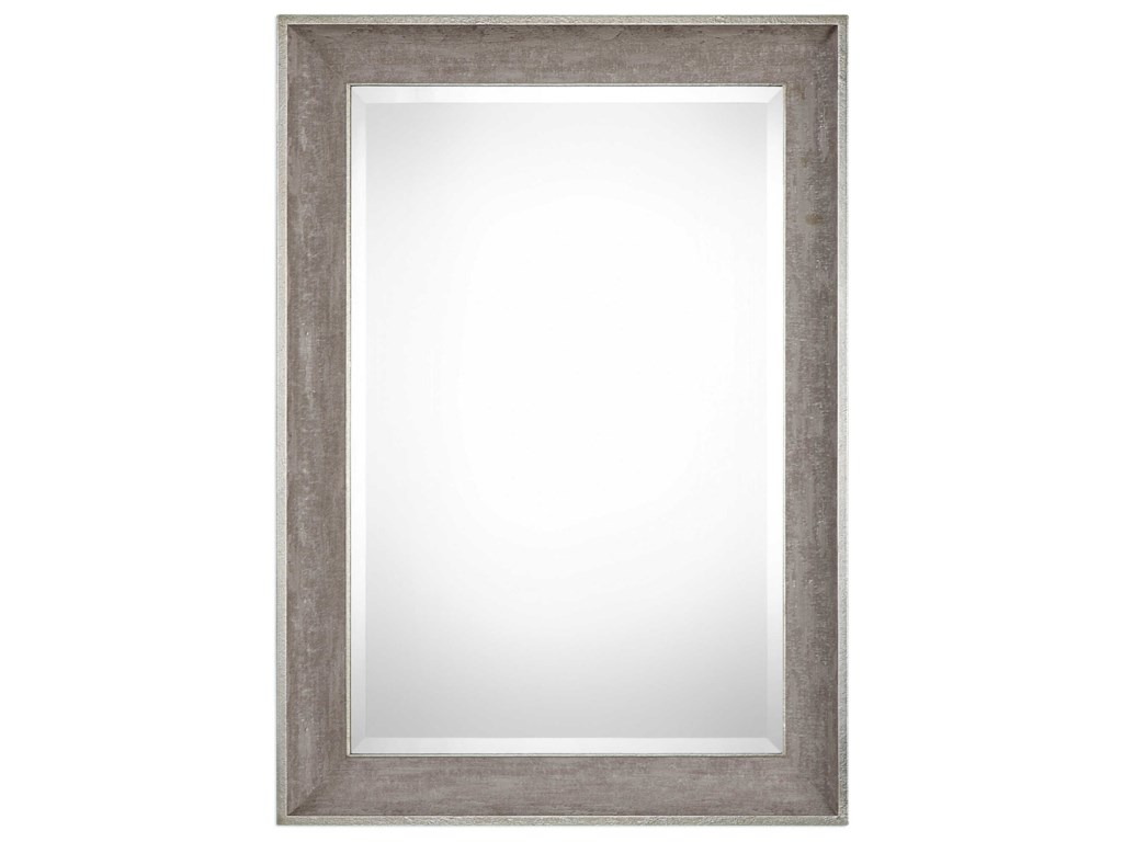 Uttermost MirrorsCorrado Textured Gray Mirror