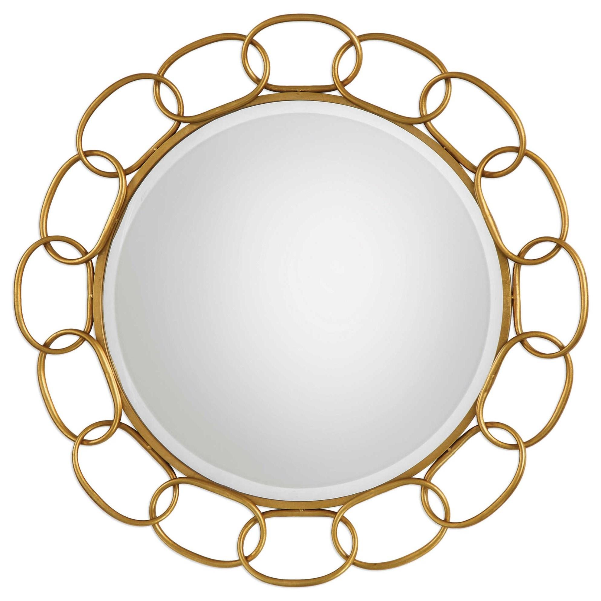 Uttermost MirrorsCirculus Gold Round Mirror ... Pictures Gallery