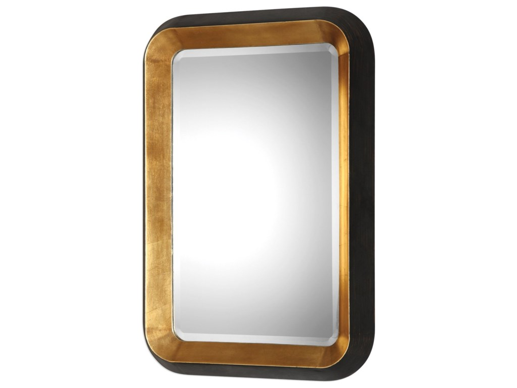 Uttermost MirrorsNiva Metallic Gold Wall Mirror