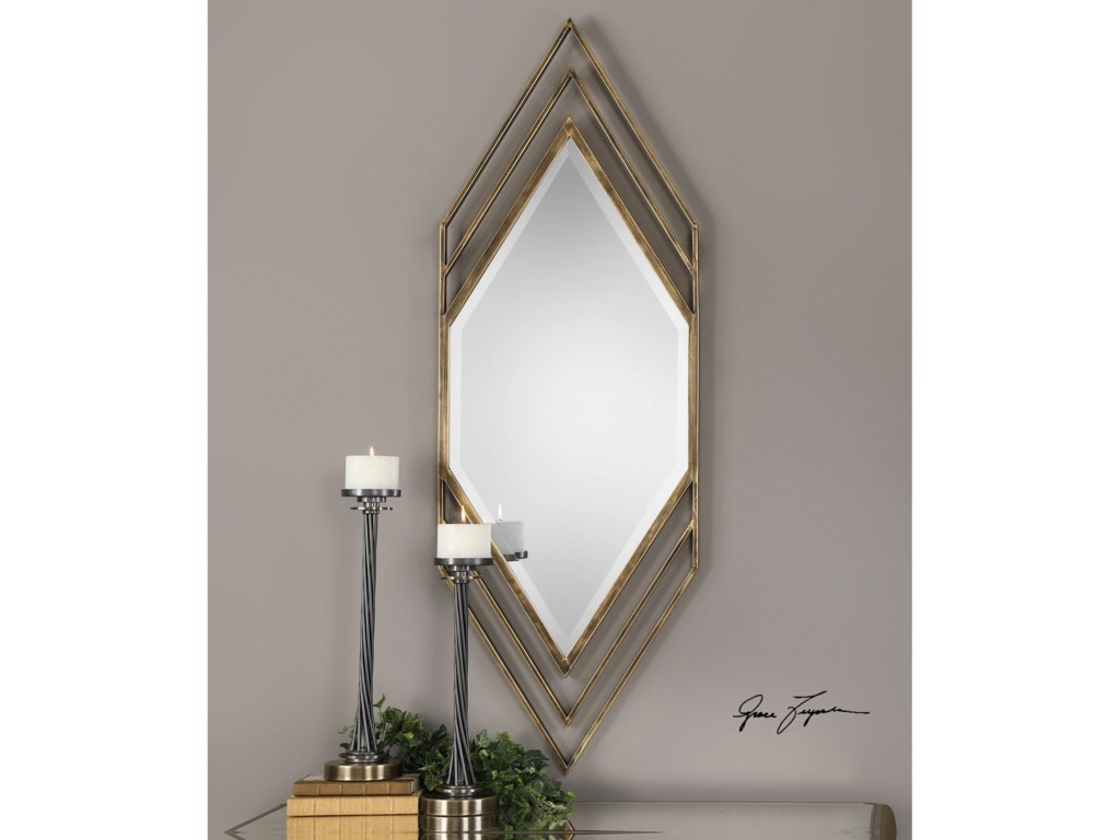 Uttermost MirrorsJavon Chevron Mirror