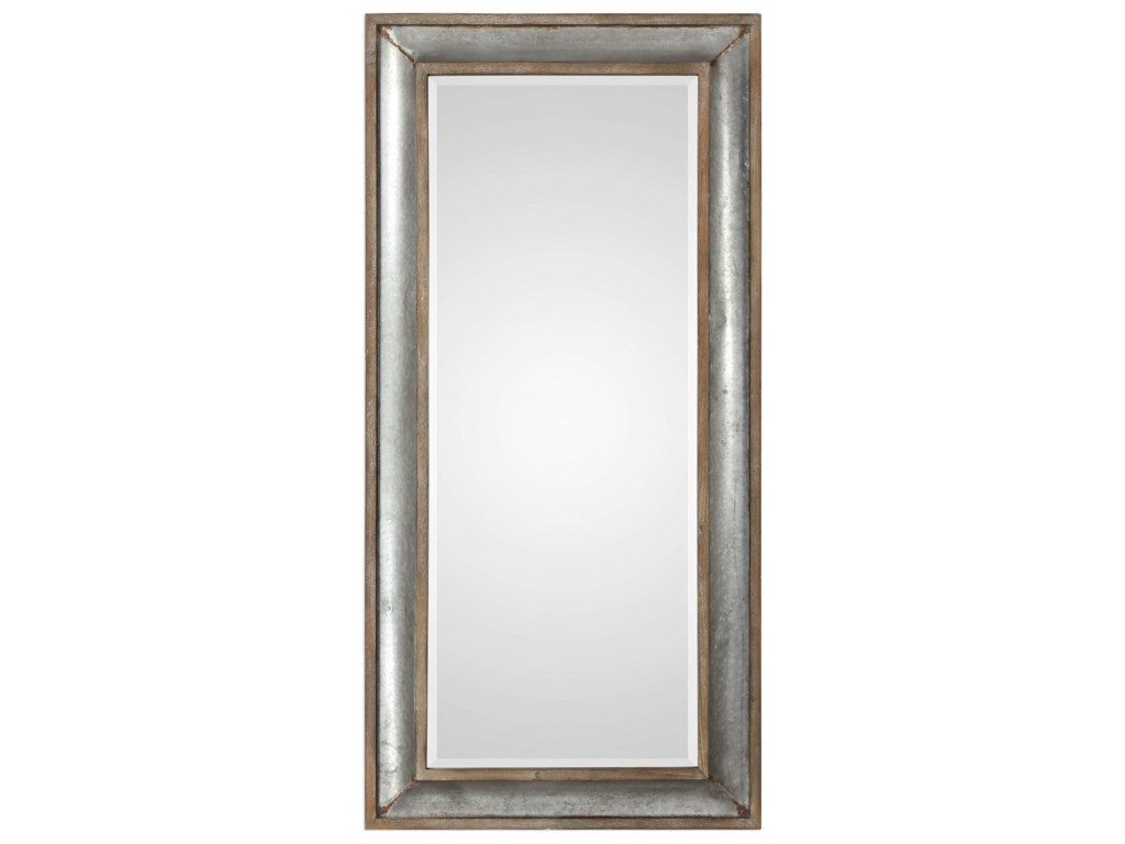 Uttermost MirrorsTexoma Galvanized Tin Mirror