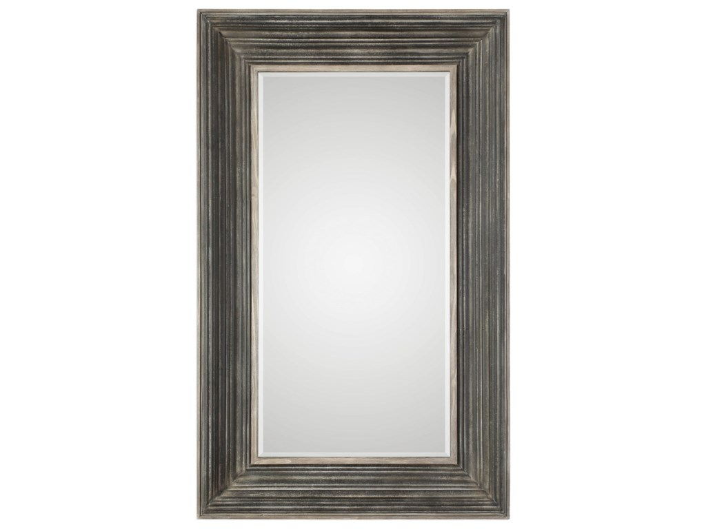 Uttermost MirrorsPatton Aged Black Mirror