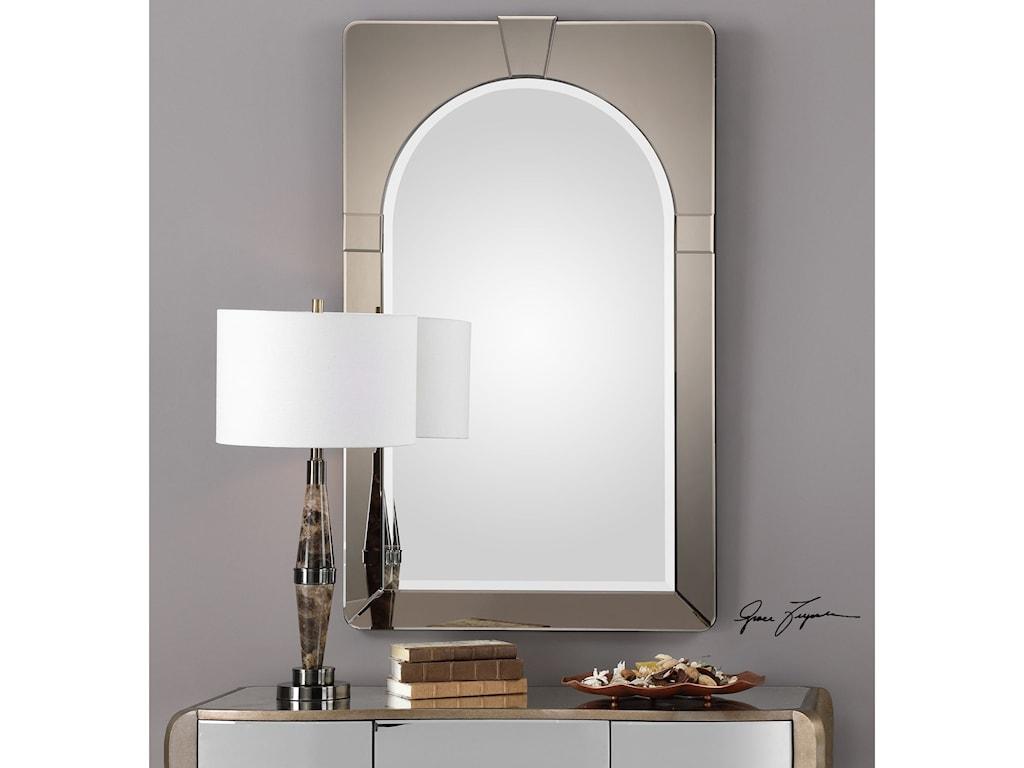 Uttermost MirrorsParia Mid-Century Modern Mirror