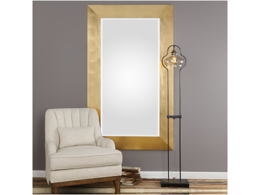 Uttermost MirrorsChaney Gold Mirror