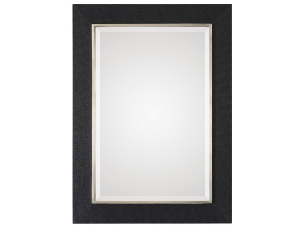 Uttermost MirrorsKaira Textured Black Mirror