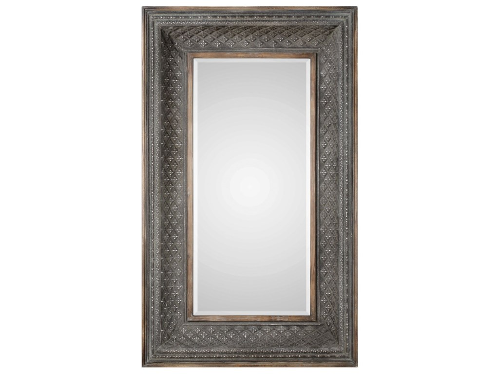 Uttermost MirrorsKivalina Aged Iron Oversized Mirro