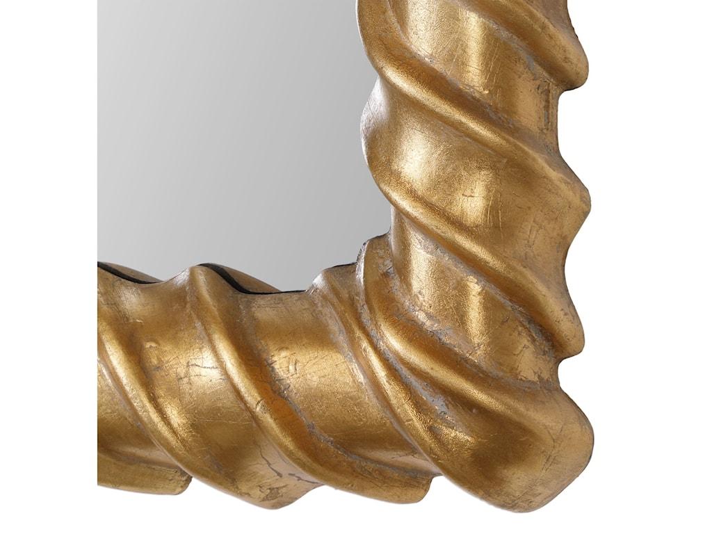 Uttermost MirrorsYamuna Metallic Gold Mirror