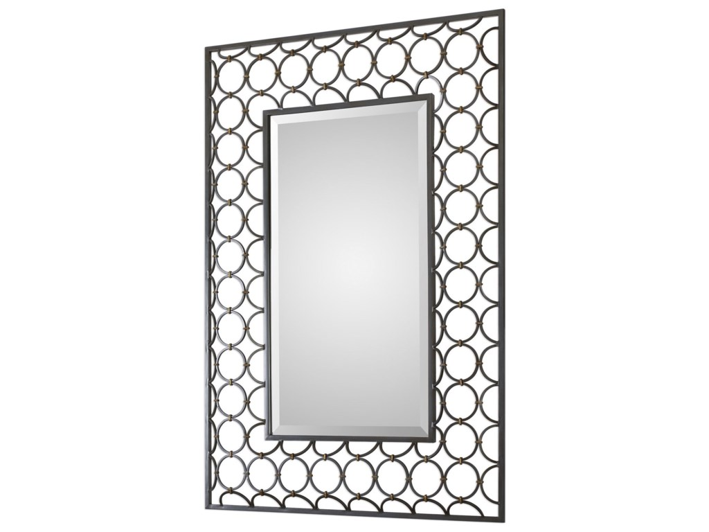 Uttermost MirrorsLeveen Iron Rings Mirror