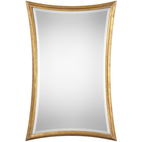 Uttermost Mirrors Vermejo Scalloped Gold Mirror