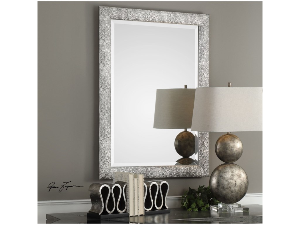 Uttermost MirrorsMossley Metallic Silver Mirror