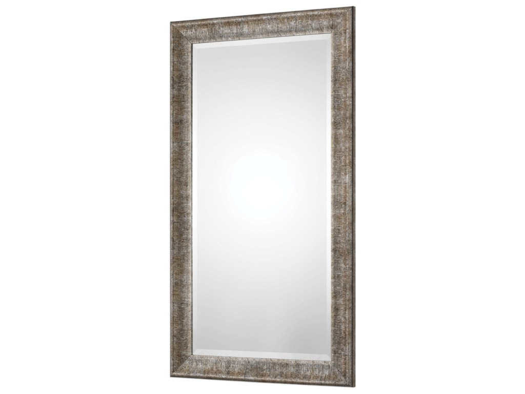Uttermost MirrorsNewlyn Burnished Silver Mirror