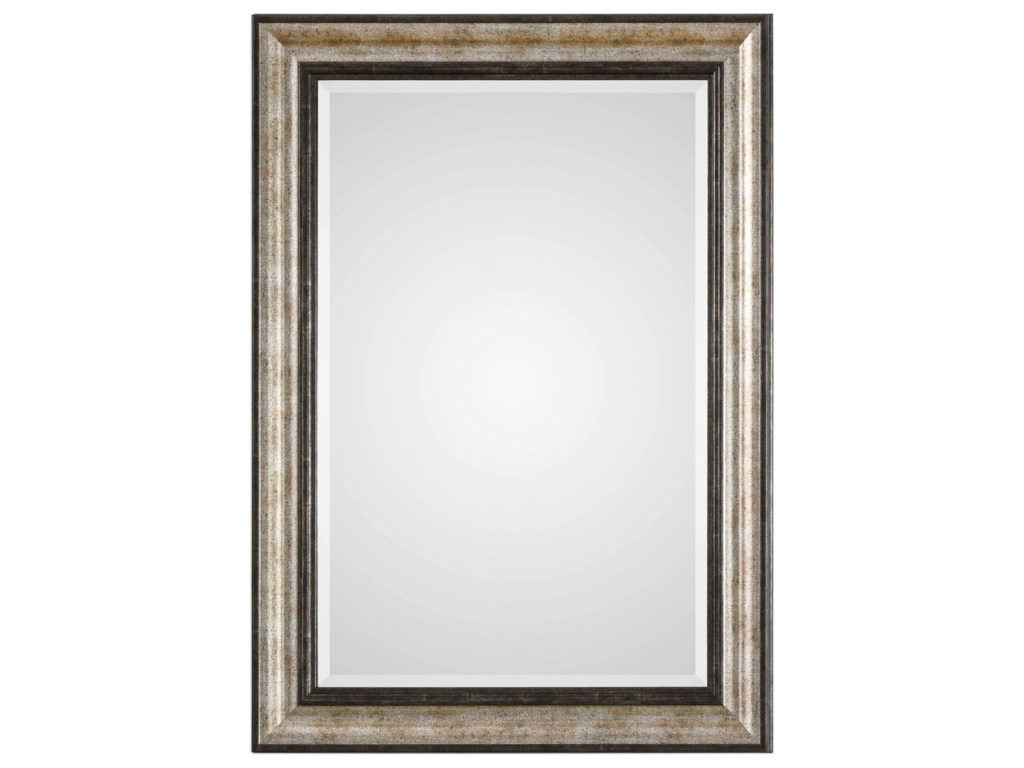 Uttermost MirrorsShefford Antiqued Silver Mirror