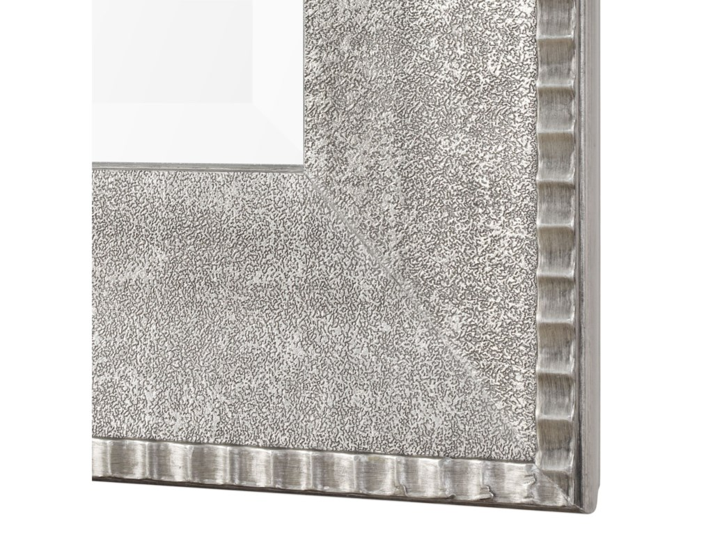 Uttermost MirrorsLeiston Metallic Silver Mirror