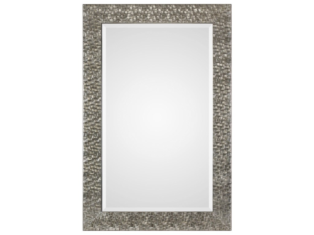 Uttermost MirrorsKanuti Metallic Gray Mirror