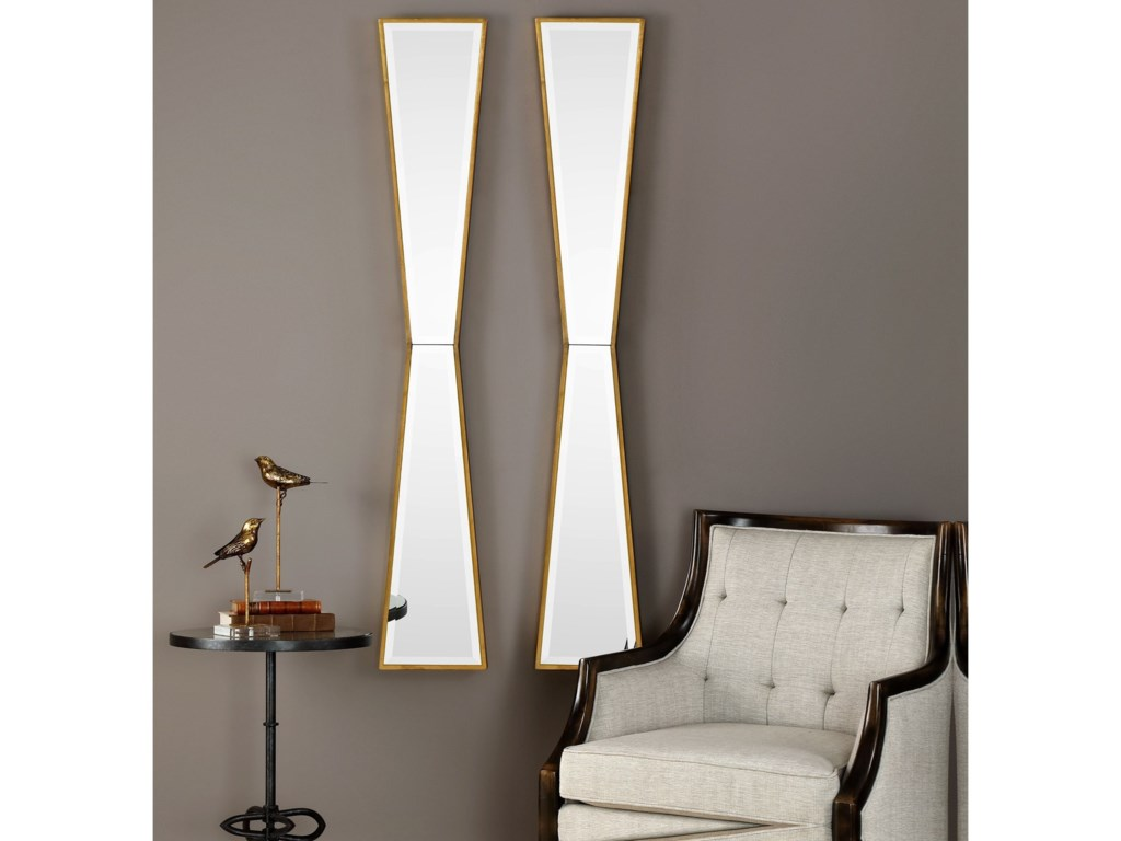 Uttermost MirrorsCorbata Gold Mirror