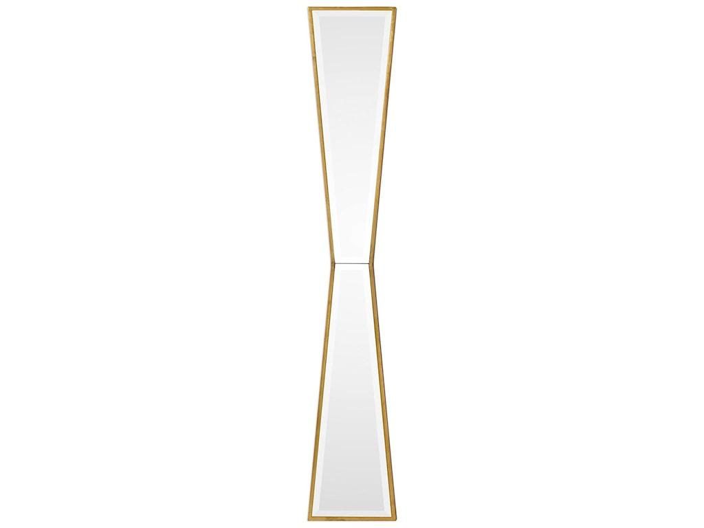 Uttermost MirrorsCorbata Gold Mirror