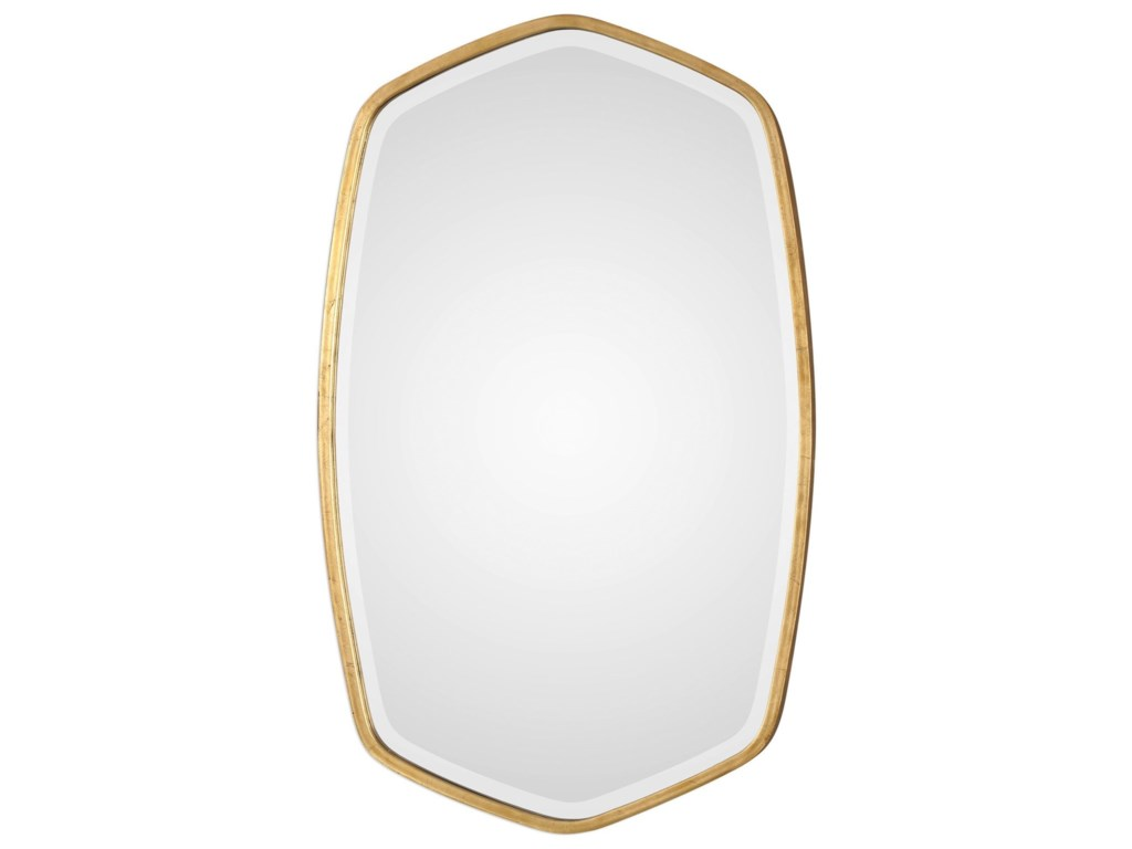730b47ebced Uttermost Mirrors 09382 Duronia Antiqued Gold Mirror