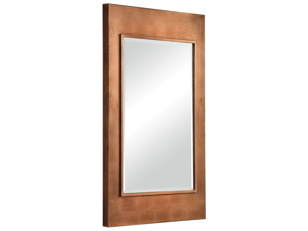 Uttermost MirrorsToulmin Metallic Copper Mirror