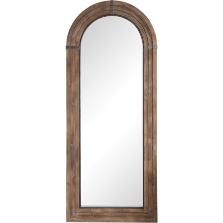 Vasari Wooden Arch Mirror