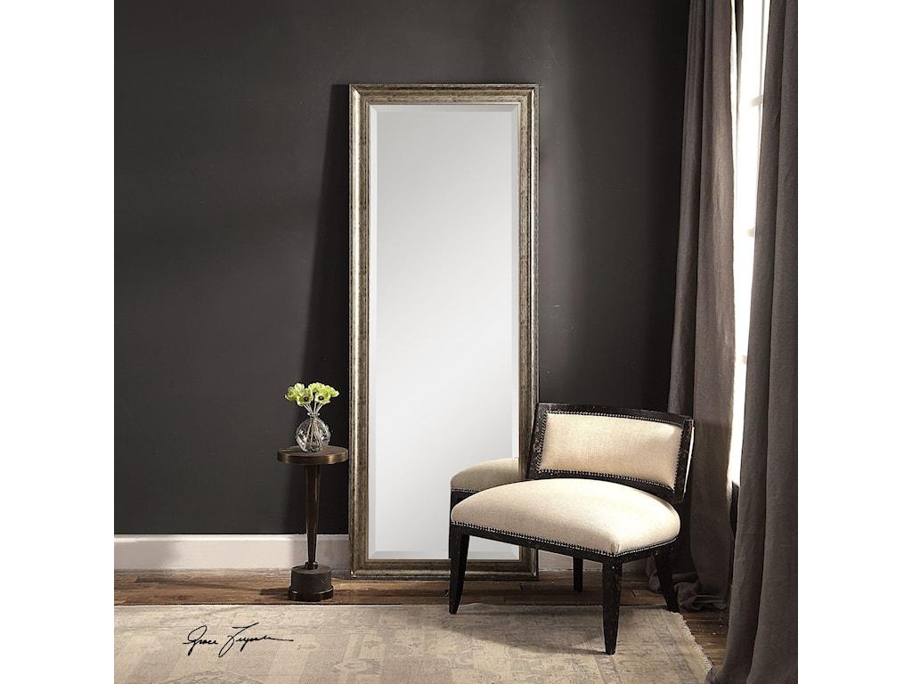Uttermost MirrorsAaleah Burnished Silver Mirror