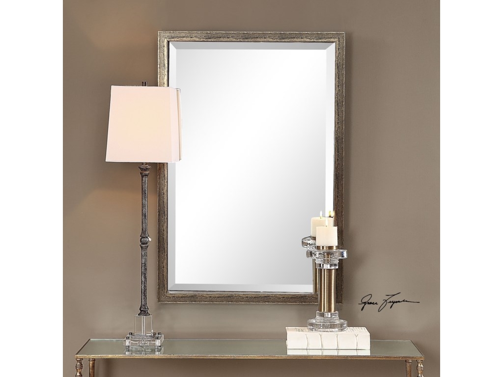 Uttermost MirrorsAburay Tarnished Silver Mirror