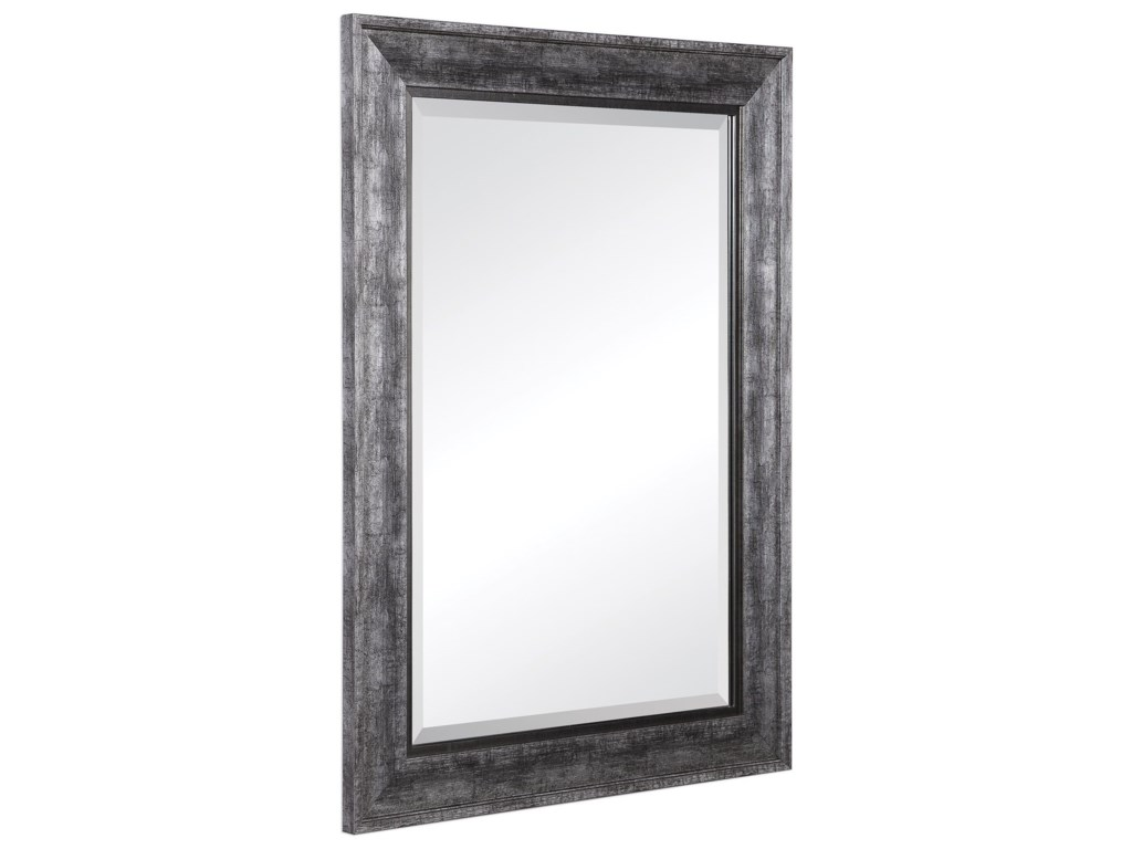 Uttermost MirrorsAffton Burnished Silver Mirror