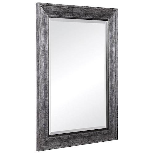 Uttermost Mirrors 09398 Uttermost Affton Burnished Silver Mirror