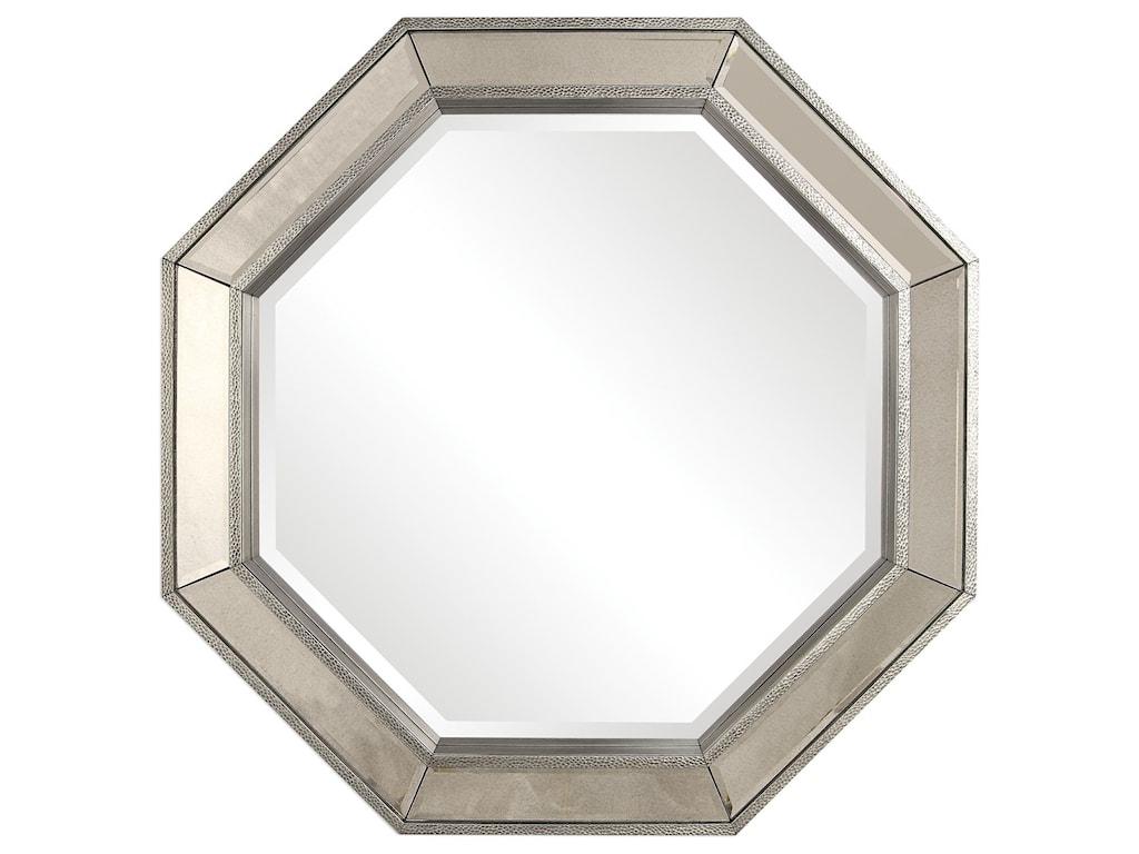 Uttermost MirrorsRachela Octagon Mirror