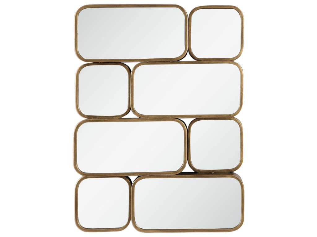Uttermost MirrorsCanute Modern Gold Mirror