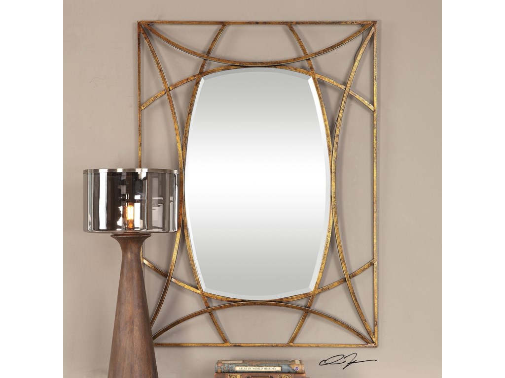 Uttermost MirrorsAbreona Metallic Gold Mirror