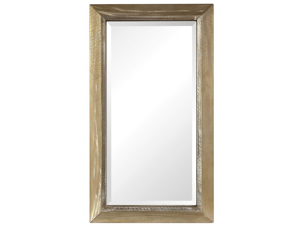 Uttermost MirrorsMadock Metallic Brass Mirror