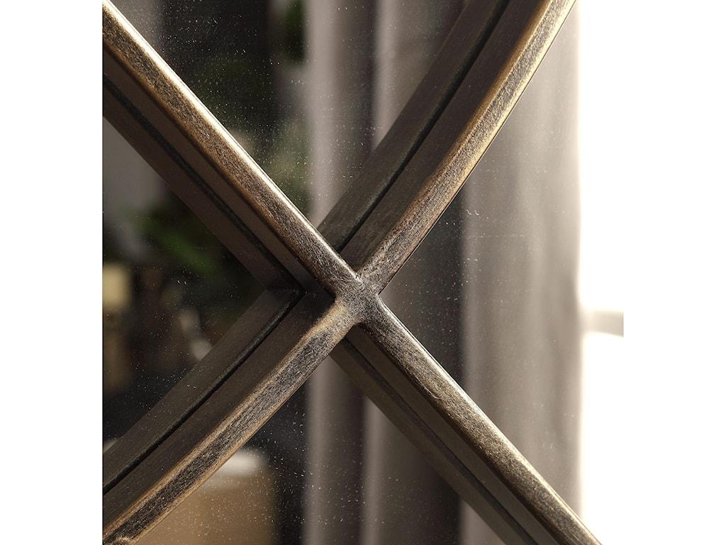 Uttermost MirrorsOberon Rustic Bronze Mirror