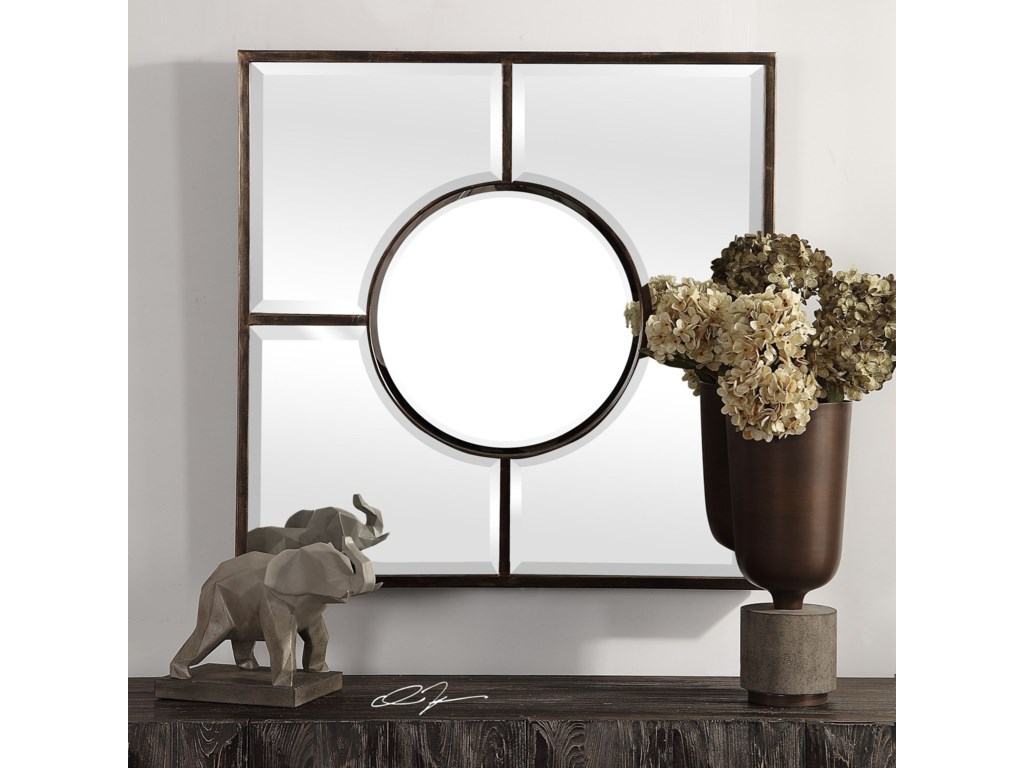 Uttermost MirrorsBaeden Forged Iron Mirror