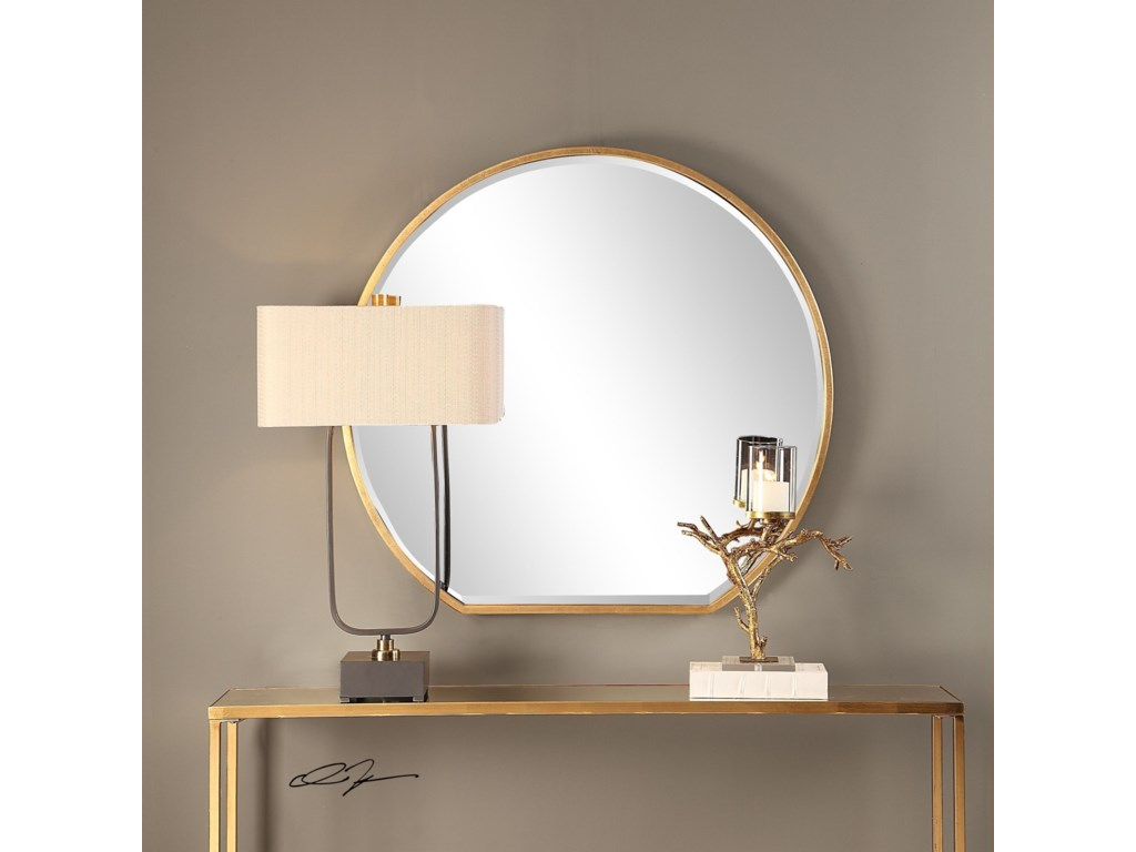 Uttermost MirrorsCabell Gold Mirror