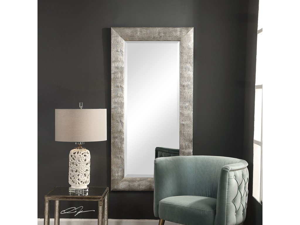 Uttermost MirrorsMaeona Metallic Silver Mirror