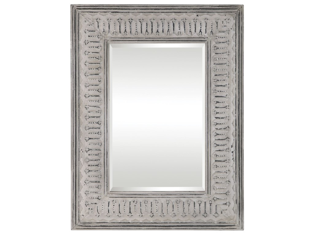 Uttermost MirrorsArgenton Aged Gray Rectangle Mirror