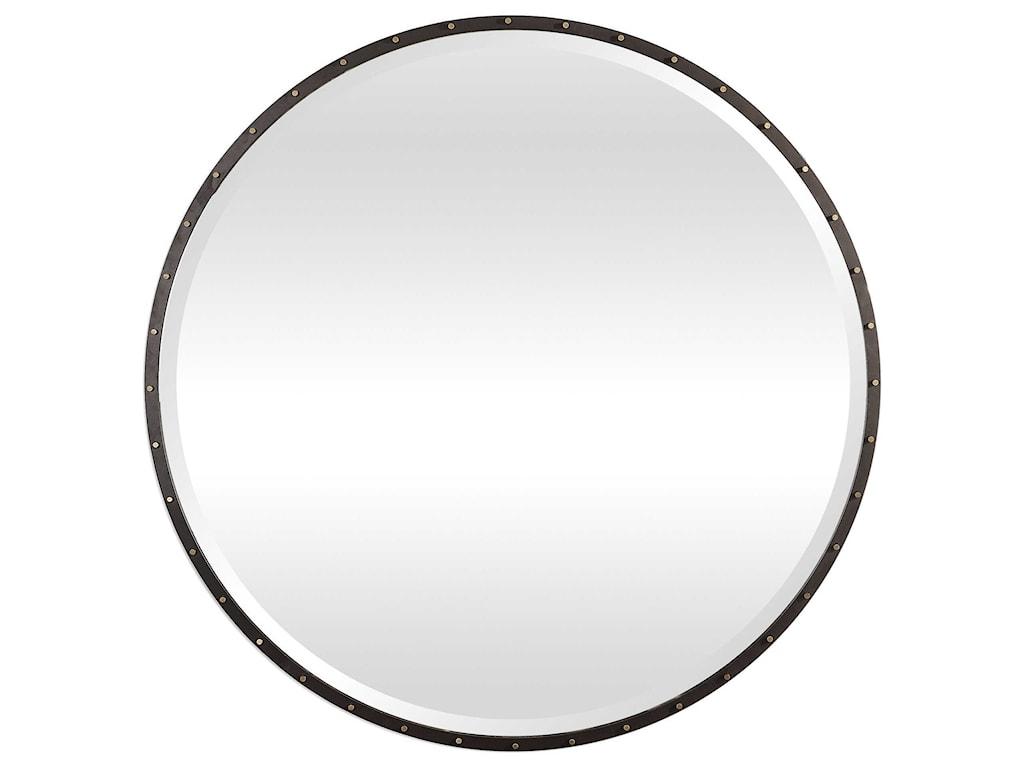 Uttermost Mirrors - RoundBenedo Round Mirror