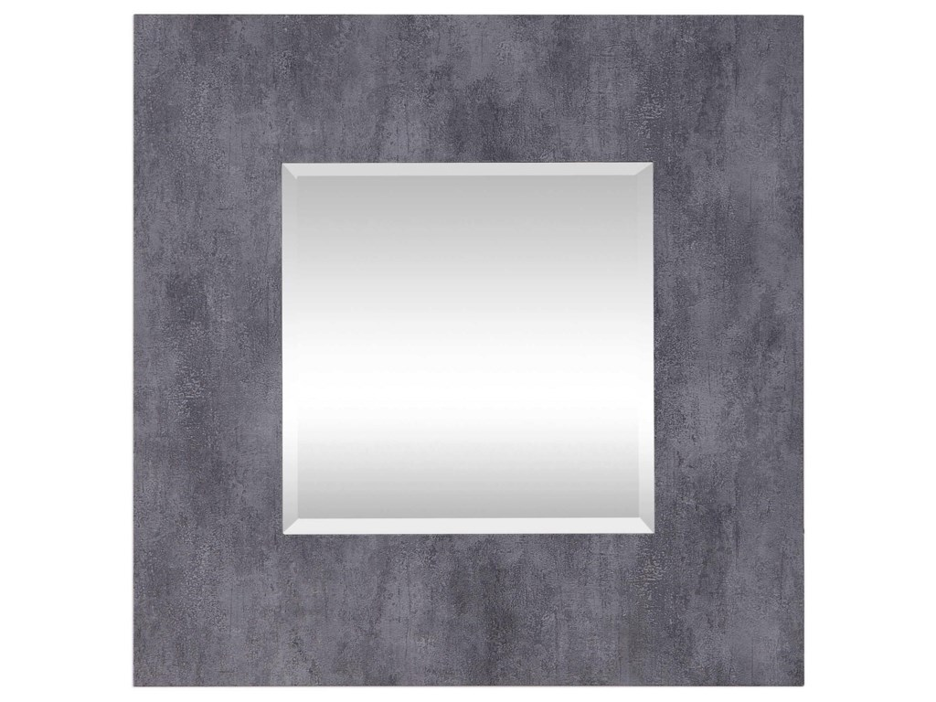 Uttermost MirrorsRohan Gray Square Mirror