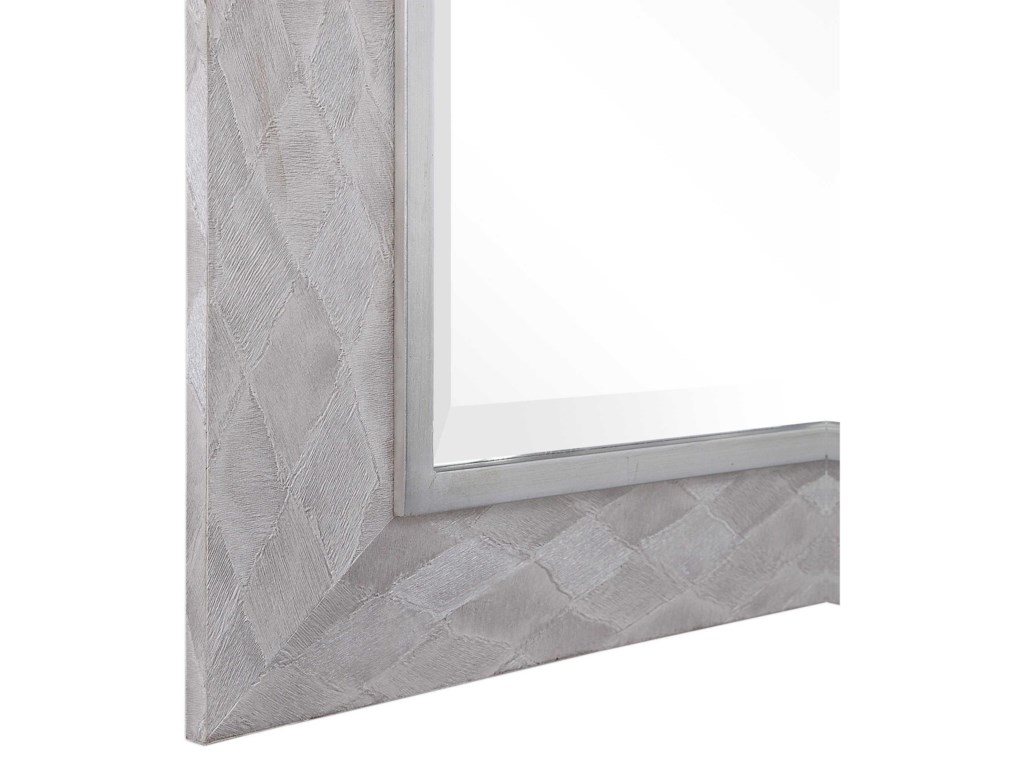 Uttermost MirrorsJohnston Gray Argyle Mirror