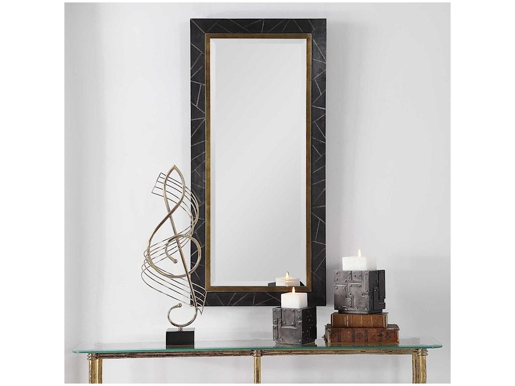 Uttermost MirrorsEliah Dark Bronze Mirror