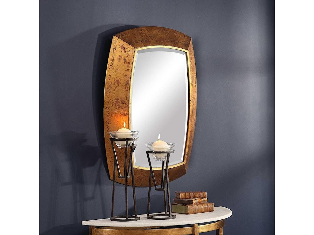 Uttermost MirrorsSyrah Antique Gold Mirror