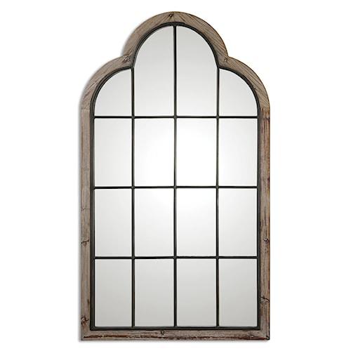 Uttermost Mirrors Gavorrano Oversized Arch Mirror