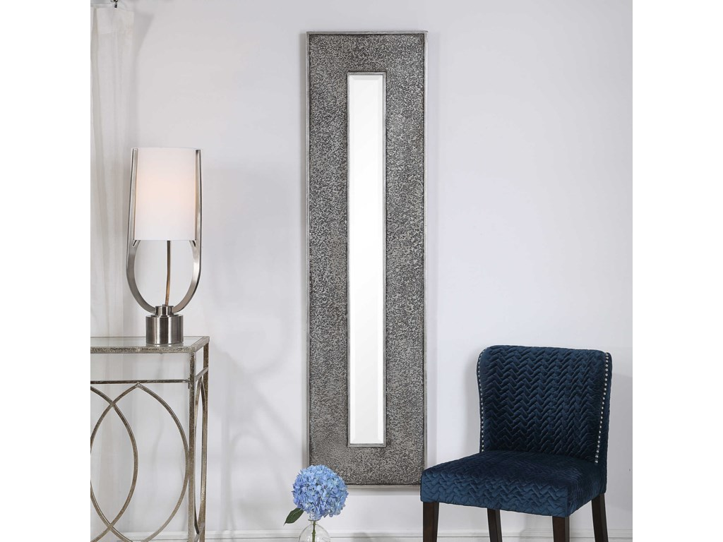 Uttermost MirrorsBannon Tall Metallic Mirror