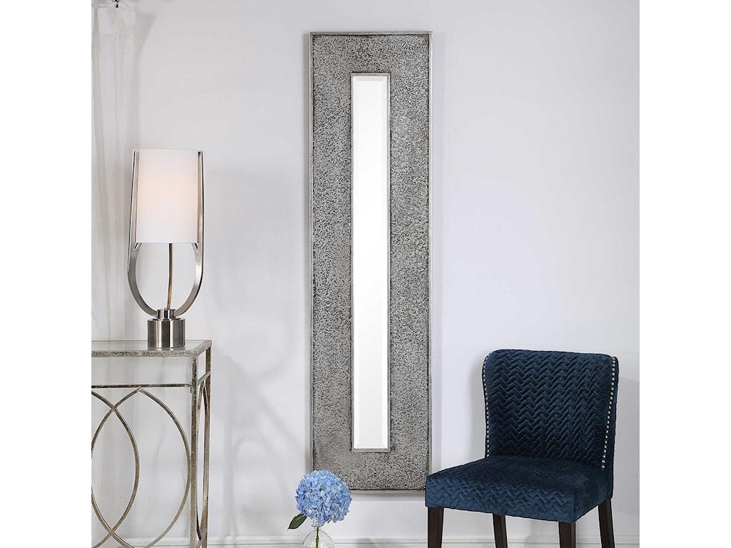 Uttermost MirrorsBannon Tall Metallic Mirror