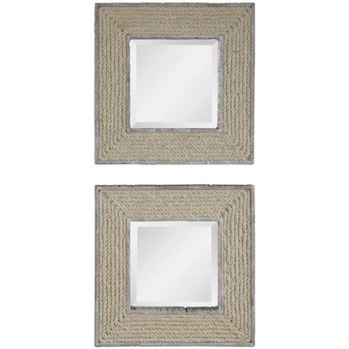 Uttermost Mirrors Cambay Square Mirrors (Set of 2)
