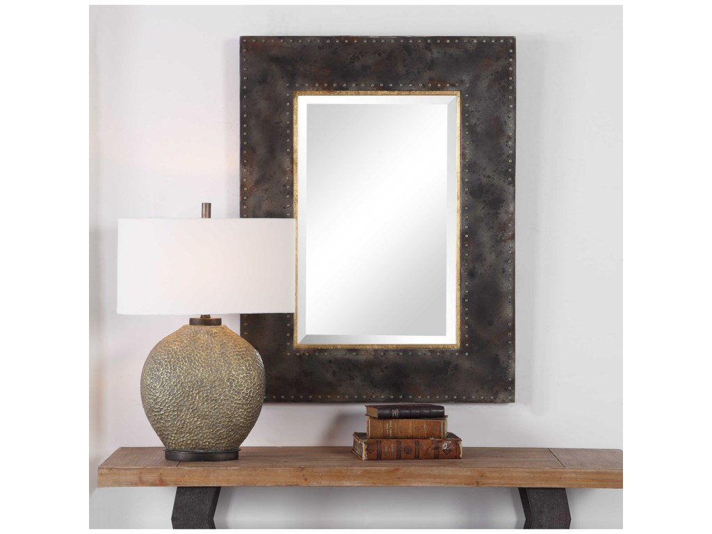 Uttermost MirrorsAmparo Industrial Mirror
