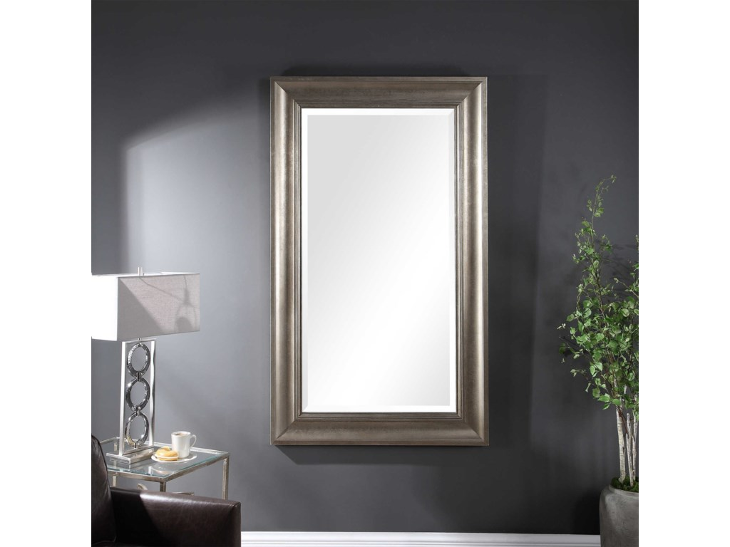 Uttermost MirrorsPalia Silver Leaf Wall Mirror