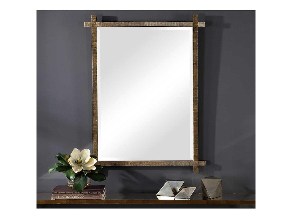 Uttermost MirrorsAbanu Gold Vanity Mirror